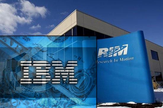 Корпорация IBM заинтересована в предприятии компании RIM