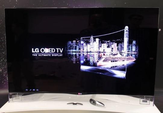 Full HD экран модели 55EA9800 имеет диагональ в 55 дюймов