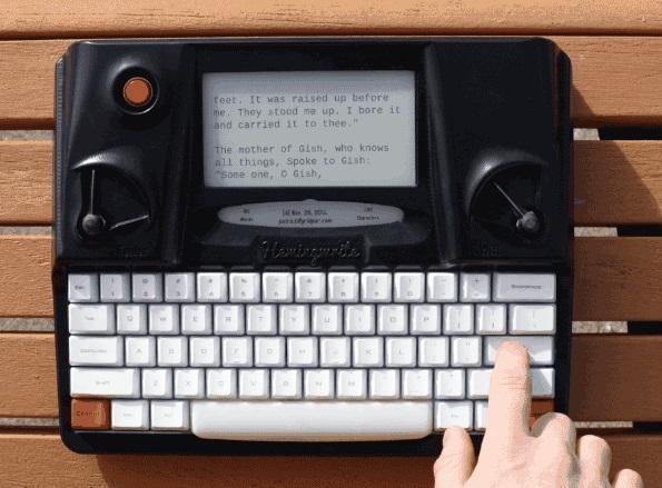 Hemingwrite – печатные машинки поколения IT