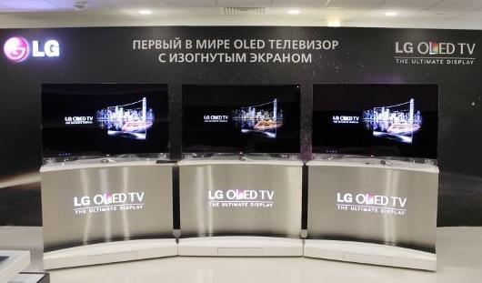 Встречайте: OLED-телевизор с изогнутым экраном от LG теперь в России