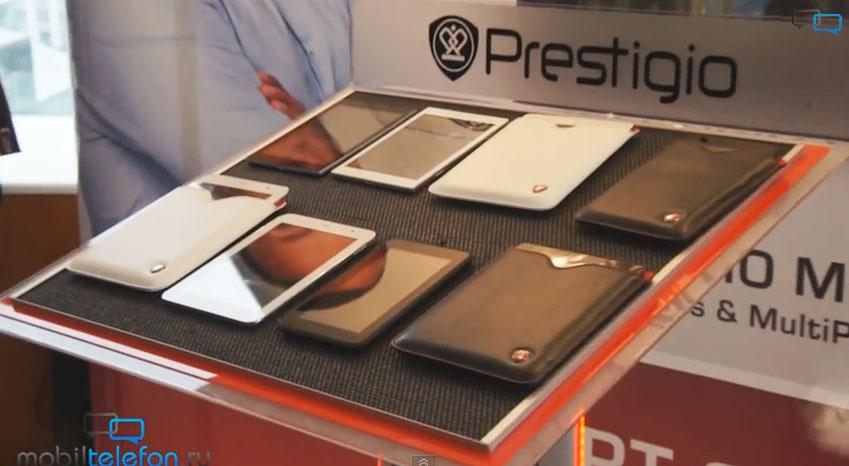 В начале ноября Prestigio выпустит на российский рынок четыре новых планшета на четырехъядерном процессоре MediaTek